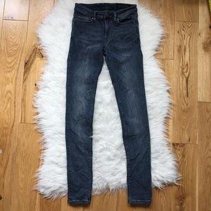 All saints skinny jeans W24 X 28